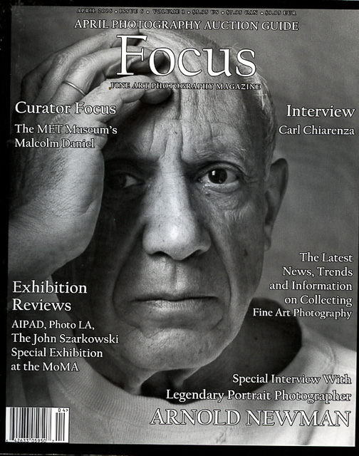 Focus - Arnold Newman - Focus Fine Art Photography - magazine